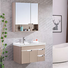 bathroom vanity set factory wholesale wooden bathroom cabinet wash hand basin