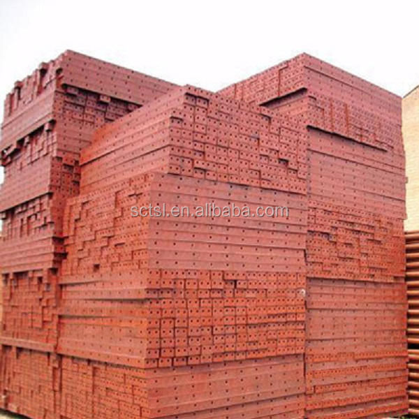 Concrete Plastic Sealed Plywood Framed Panel System Formwork