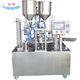 custom factory price rotary beverage cup filling sealing machine
