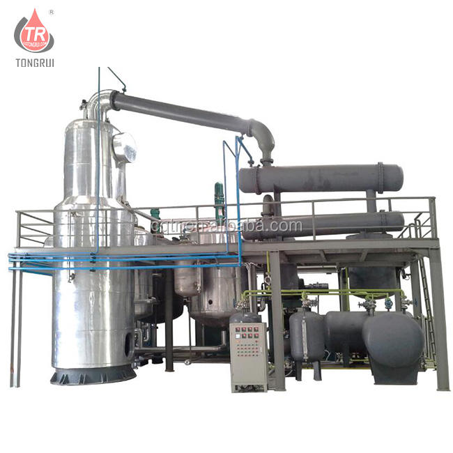Base oil SN500 making engine oil filter recycling machine