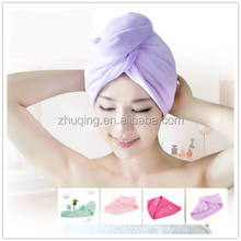 Compact Magic Hair Drying Towel Wrap Quick Dry Bath Hair Towels