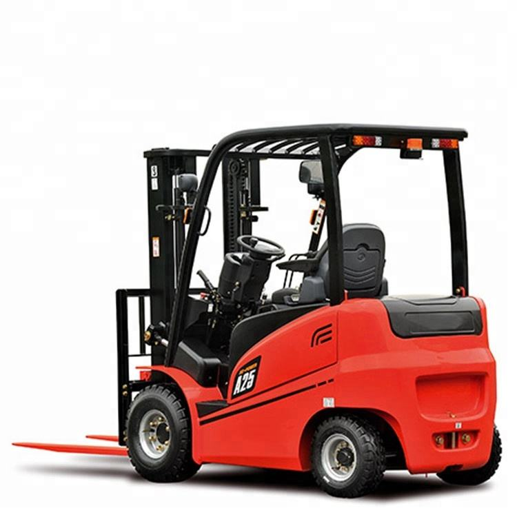 RED-LIFT 2.0ton/2.5ton AC/DC 4wheel electric forklift truck battery forklift