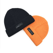 Custom keep warm ski knitted cap,baggy beanies hats