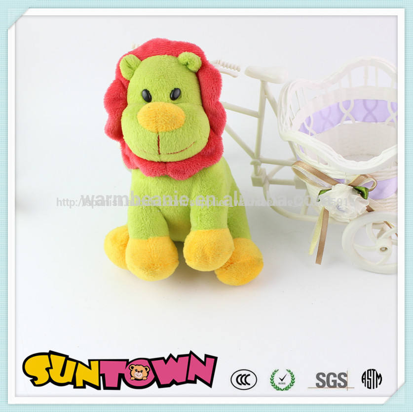 De la felpa de dibujos animados de león, la costumbre de león de peluche de juguete