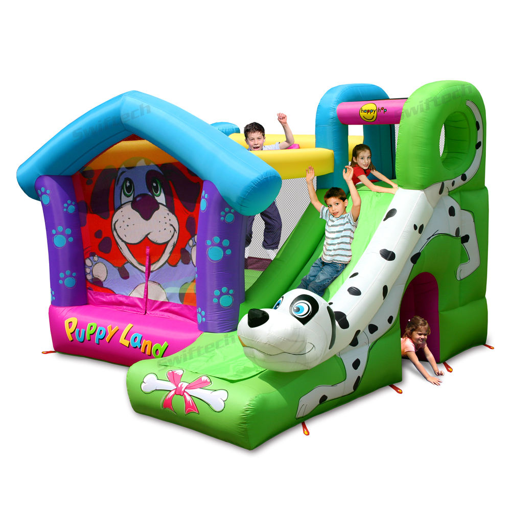 Happy Hop Cheap inflatable bouncer -9109 Children Cartoon Bounce and Slide, Bouncy Castle, inflatable combo inflatable toy