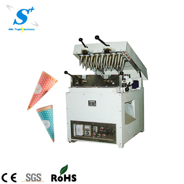 commercial ice cream cone tube puffing machine