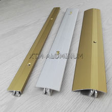 High quality matt finish decoration home accessories floor transition strip marble garage aluminum door threshold