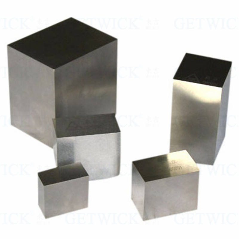99.95% High Purity 1kg Tungsten Wolfram W alloy Cube Block for industry