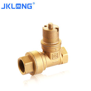 J9168 Forged 2inch Hot Sell China Manufacturer Brass Magnetic Lockable Gate Valve
