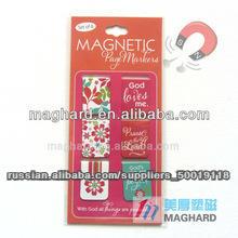 сувенирных магнитов 54*20mm 6pcs/set магнитного закладки