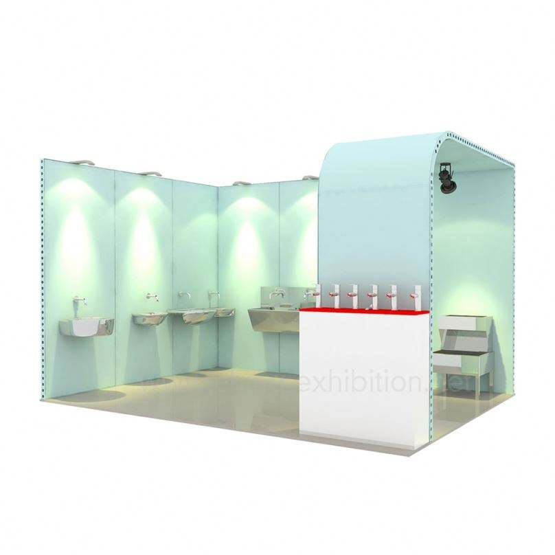 Portable Design Trade Fair Free Flexible Modular And Stall 3X4 Exhibition Booth