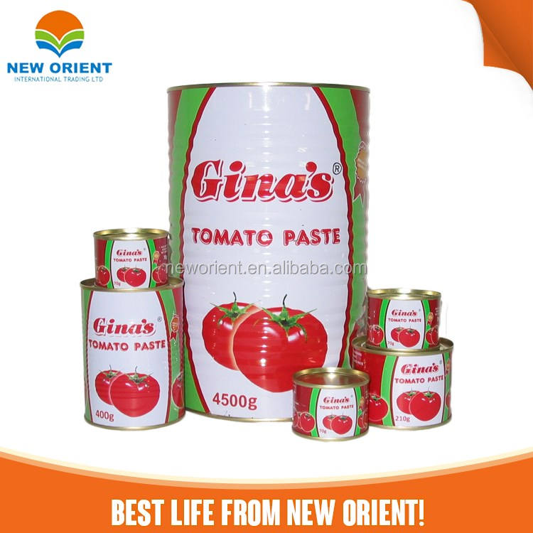 Chinese Manufacture Export Price Canned Tomato Paste/Sachet Tomato Sauce/Organic canned tomato paste For Sale