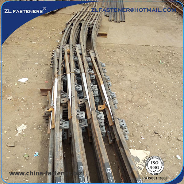 railway / rail turnouts for railway track materials