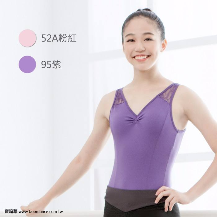 Adult tactel X back camisole ballet tank leotards