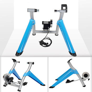 Save Space Bike Indoor Exercise Magnetic Resistance Bicycle Trainer Bike Stand