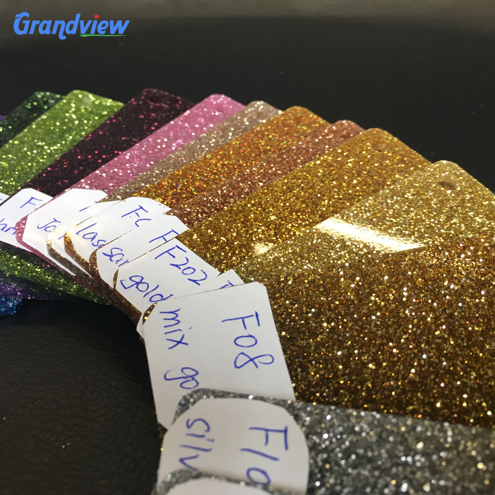 3mm colorful glitter acrylic/ marble plastic sheet