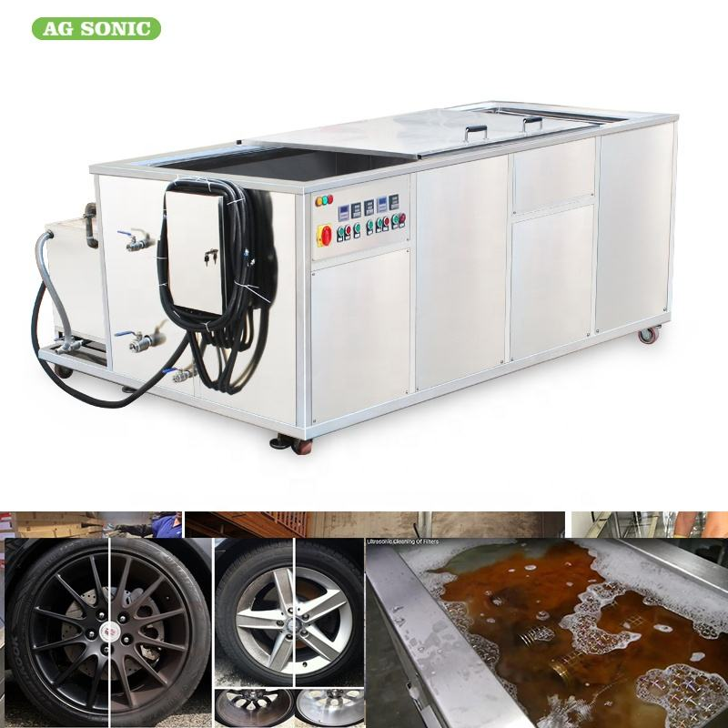 Stainless Steel Automotive Ultrasonic Cleaner 40Khz Auto Parts Ultrasonic Cleaning Bath