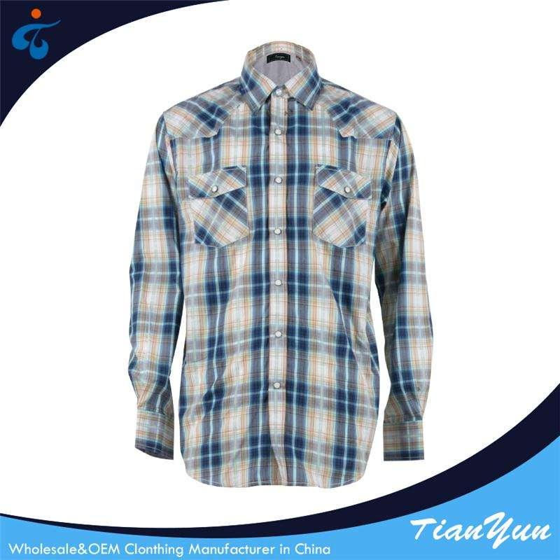 Écologique <span class=keywords><strong>coton</strong></span> hommes casual manches longues plaid dernières créations des chemises hommes
