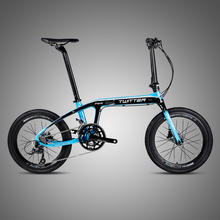 2019 New Cheap Adults Foldable Carbon Bicycle Frame 20 inch Folding Bike from Bicycle Factory