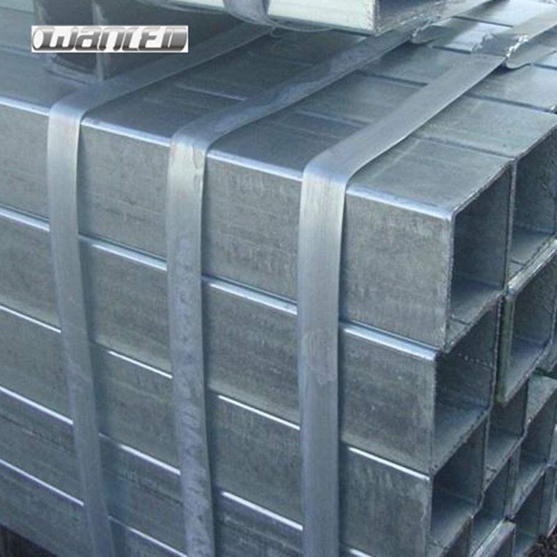 100x100mm <span class=keywords><strong>SHS</strong></span> galvanizado sección rectangular hueca y cuadrado tubos de acero/tubo