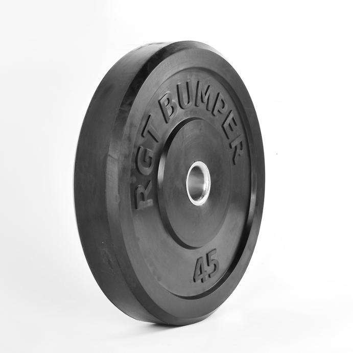PROIRON Weightlifting Barbell 45LB Olympic Rubber Bumper Plate