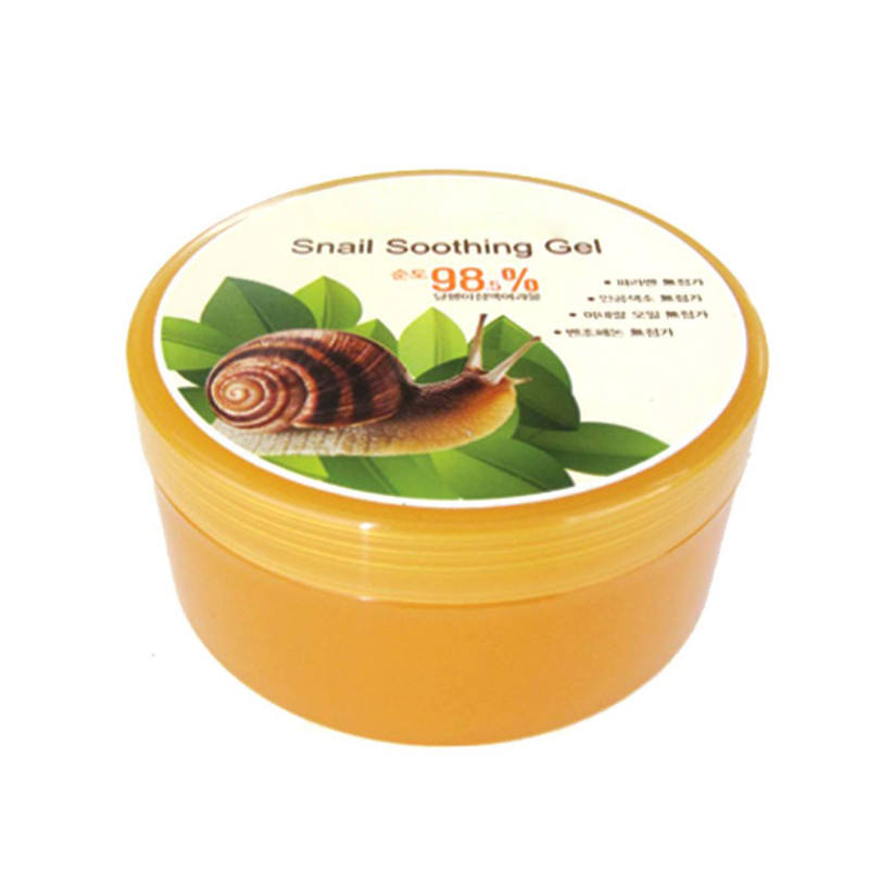 Private Label Korean Moisturizing Snail Soothing Gel