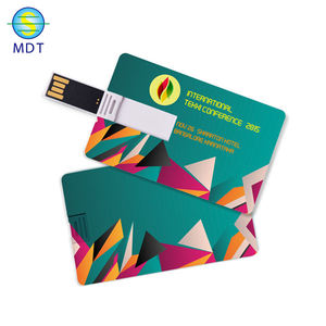 High quality 128MB-32GB business credit card usb memory