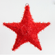 Red Christmas flashing Xmas tree top star for gift