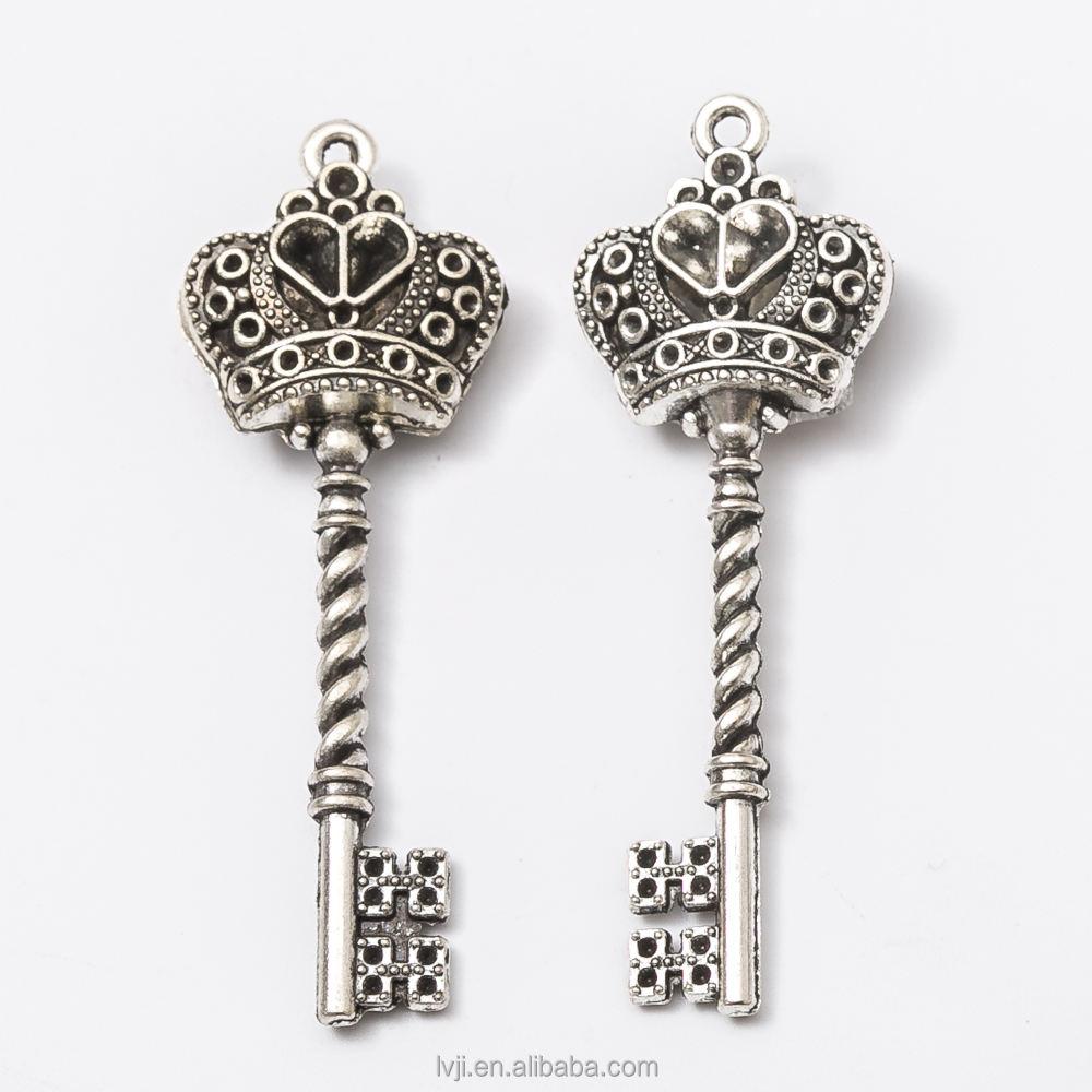 10 Pcs Tibetan Silver Autism Jigsaw Puzzle Symbol Jewellery Craft Beading L157