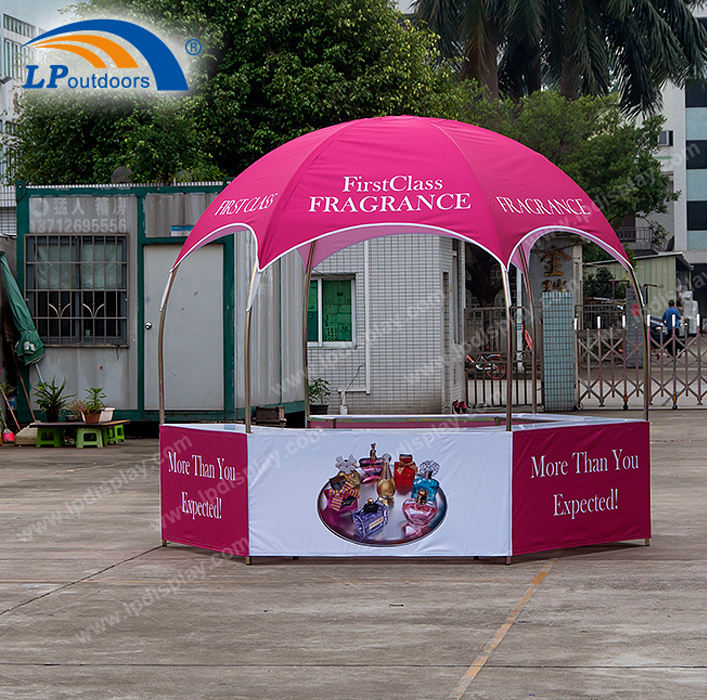 10x10 Gazebo Advertising Trade Show Booth Dome Tent For Events