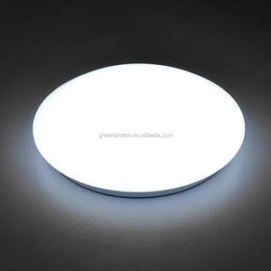 Volledig voorradig fabriek direct ronde oyster led plafondlamp opbouw led lamp 18 W