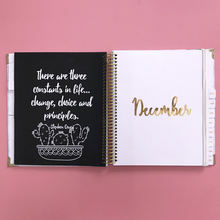 Custom High Quality 6 Ring Binder Weekly Diary Planner