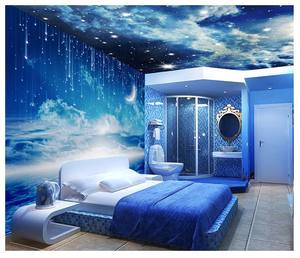 PVC/Nonwoven/Self-adhesive Photo Wallpaper Murals with OEM Service