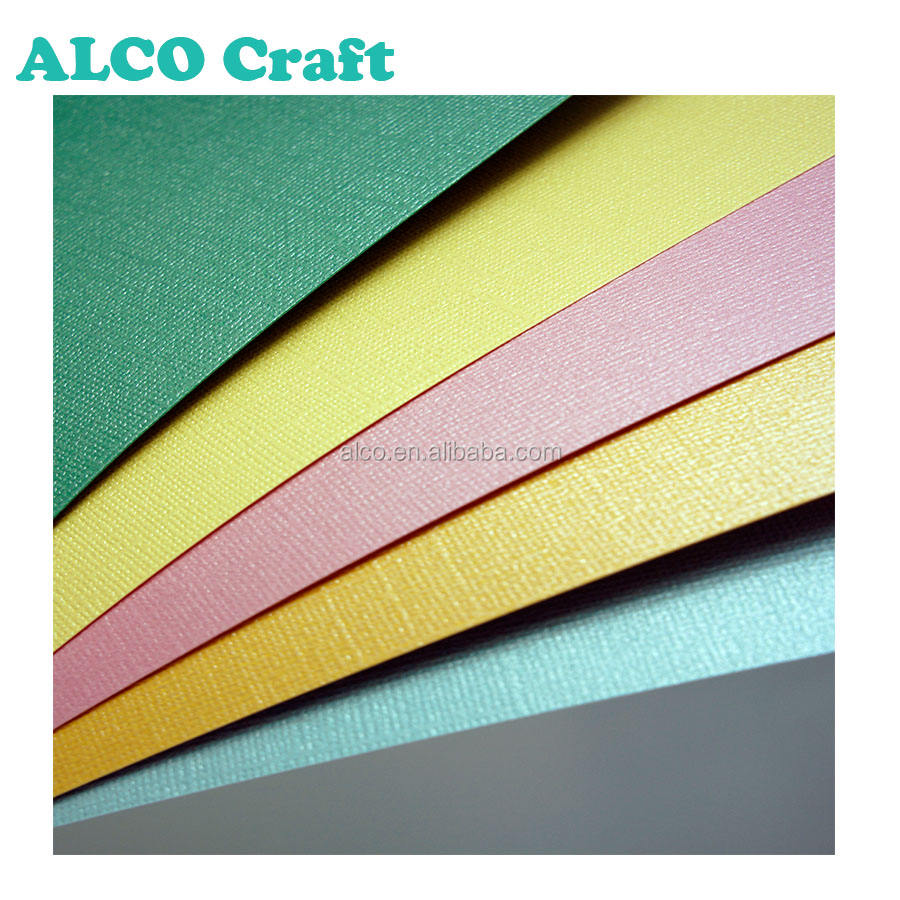 12x12 specialty pearlized textured cardstock