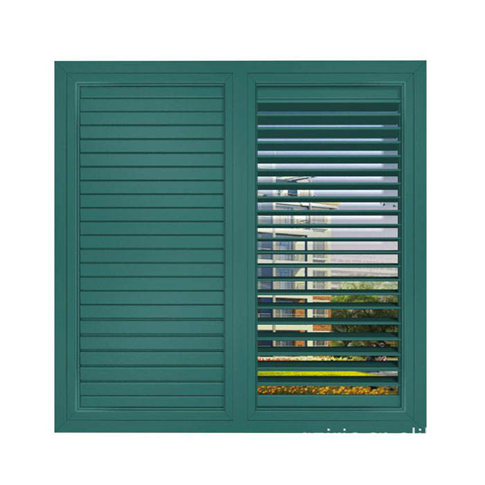 Aluminum Shutters/sun Louver/blades/shades Extruded Louver Shutters