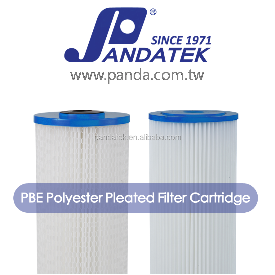 Taiwan water filter, Reusable 0.2 micron polyester pleated filter cartridge for swimming pool