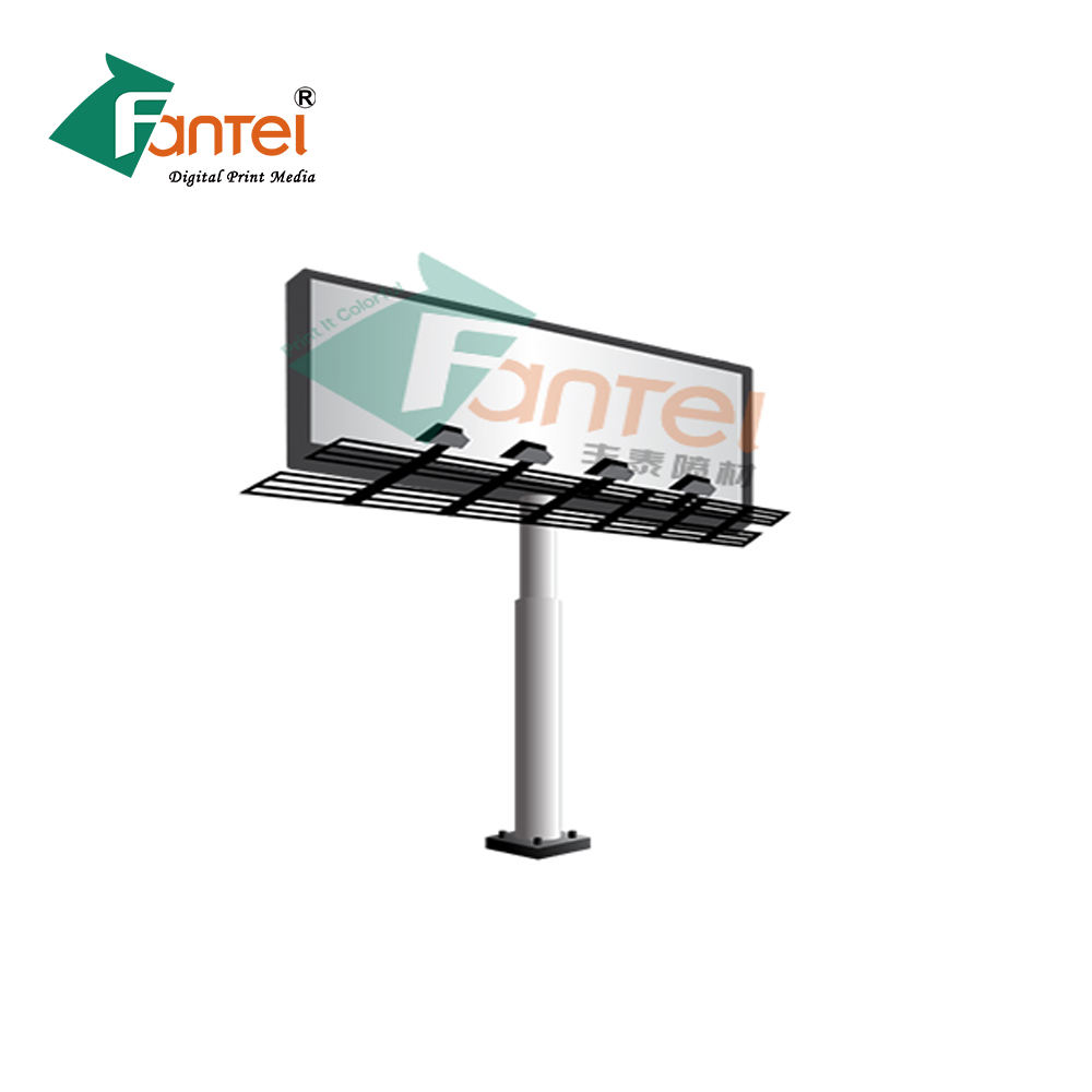Print Canvas Media with weight of 440g 300D*500D 18*12 PVC Flex Banner