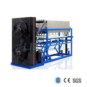 Lier contenedores 20 t móvil máquina del bloque de hielo planta para hacer bloques de hielo