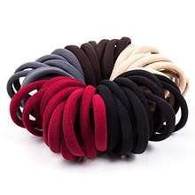 No Crease Elastic Fabric Cotton Stretch Ponytail Holders