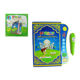 Arabic study children electrical speaking book toy with pen