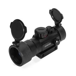 LUGER 2x40RD Red Green Dot Sight Hunting Scope Tactical Optics Riflescope