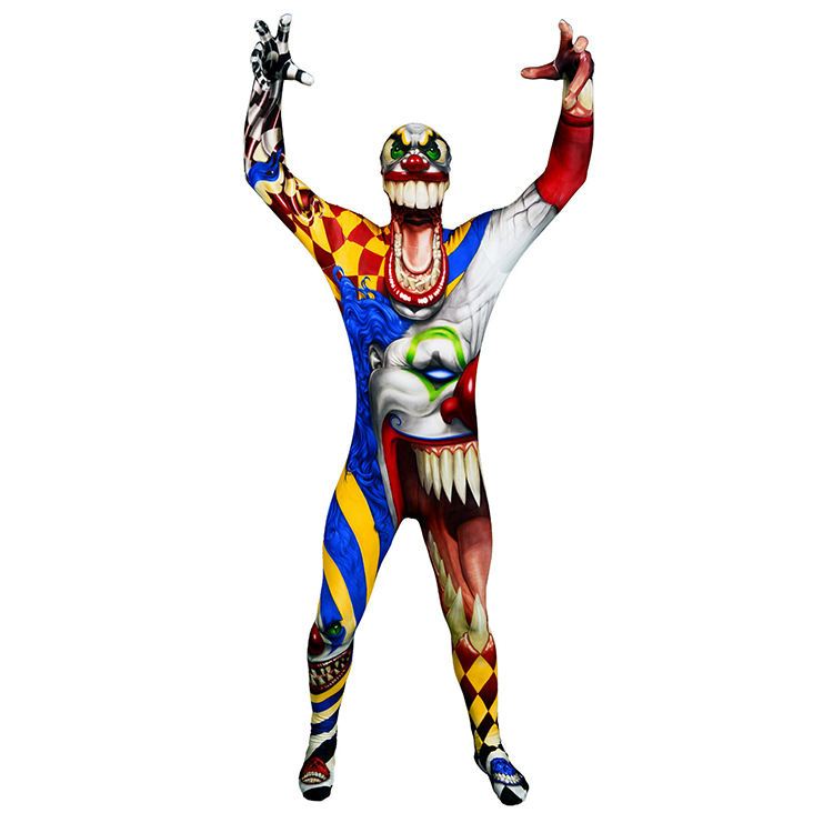 En gros Halloween Carnaval Fête Film Zombie Monstre Costume Enfants <span class=keywords><strong>Clown</strong></span> Cosplay Fantaisie Robe