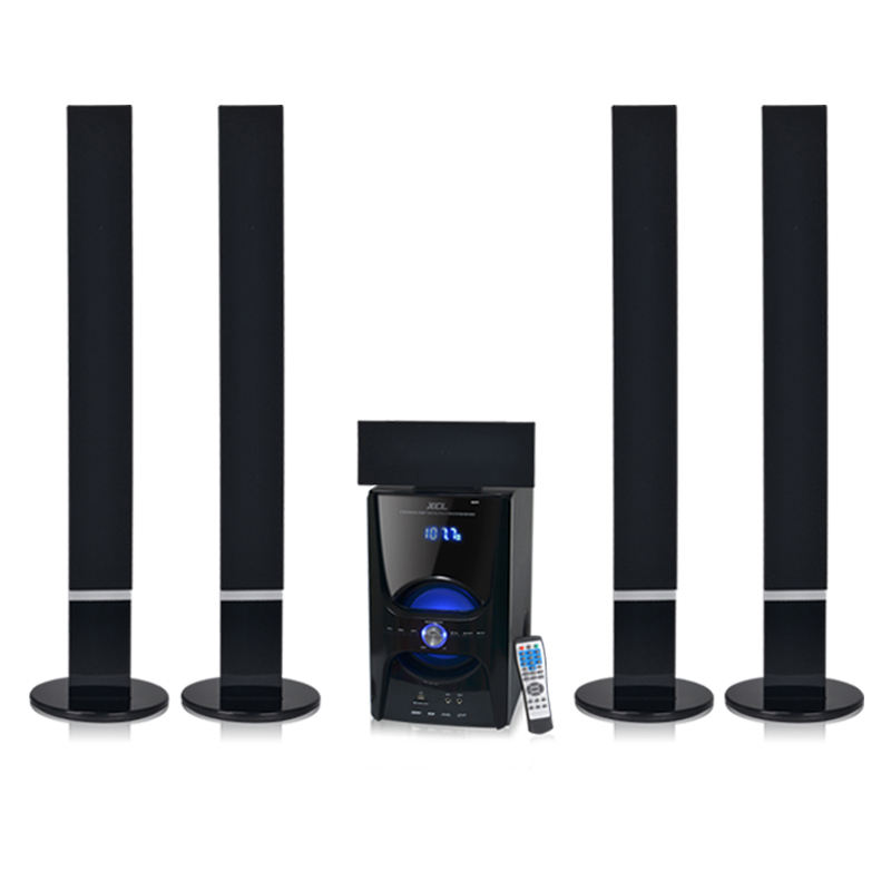 Di alta qualità 5.1 bt torre di altoparlanti per home theater con bt mp3/4 fm radio