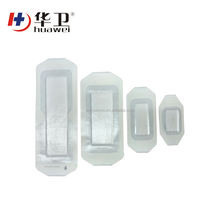 surgical medical wound care transparent island wound dressing