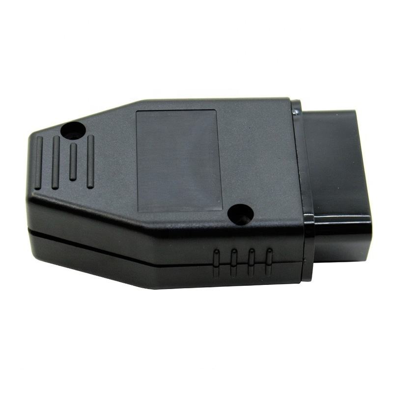 EOBD2 16 핀 Connect OBDii j1962 OBD II J1962 Connectors OBD2 Male Plug 어댑터 선 Connect (High) 저 (품질