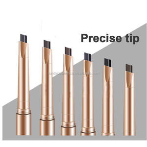 Best selling products wholesale permanent eyebrow pencil 6 colors waterproof eyebrow pencil