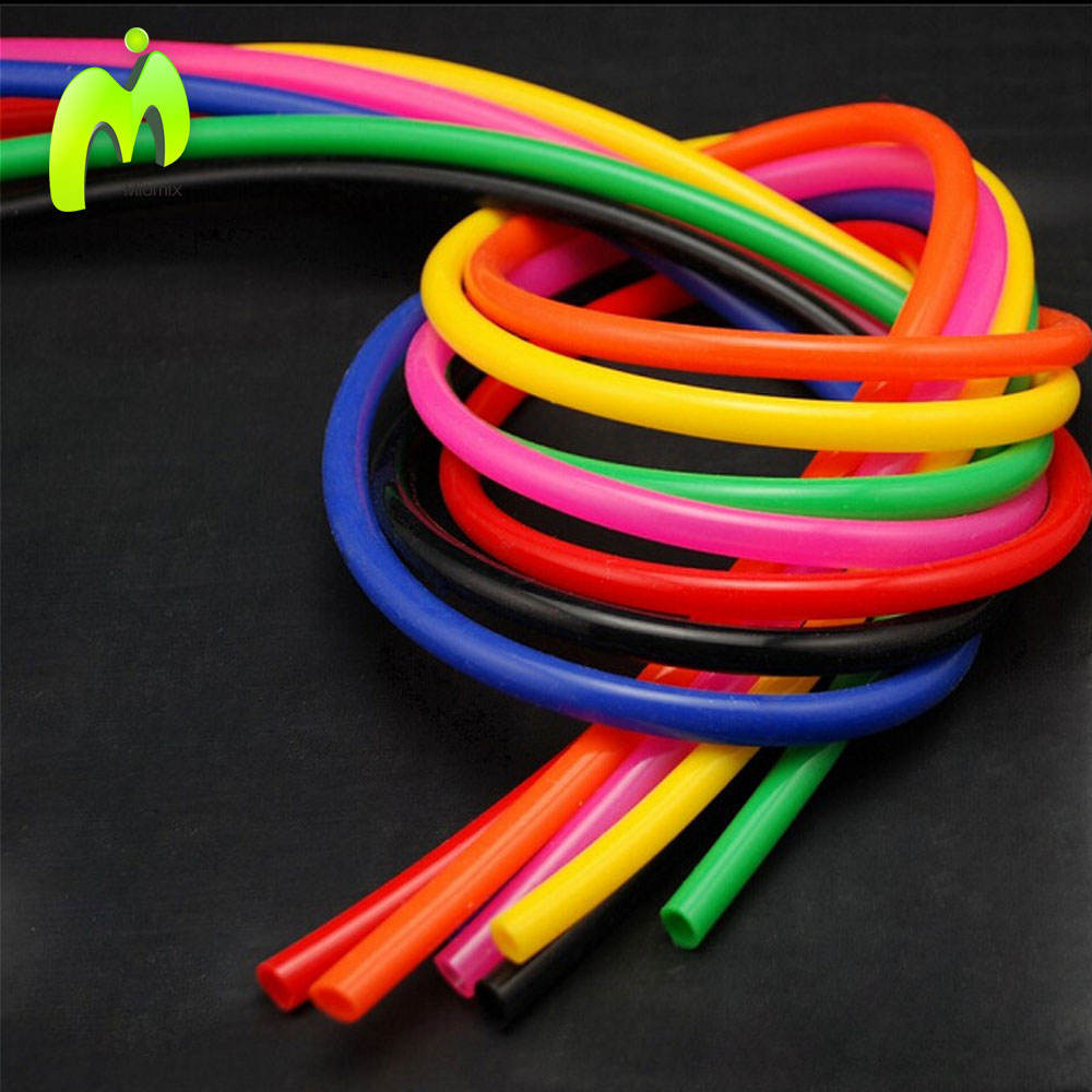 High temperature resistance food grade silicone hose,colorful flexible silicon rubber tubing