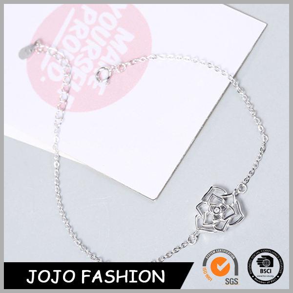 Design de jóias de ouro por atacado das mulheres da flor da forma pulseira