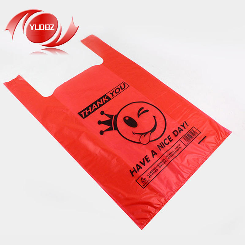 alibaba gold supplier customized Groceries Plastic shopping Bag for supermarket