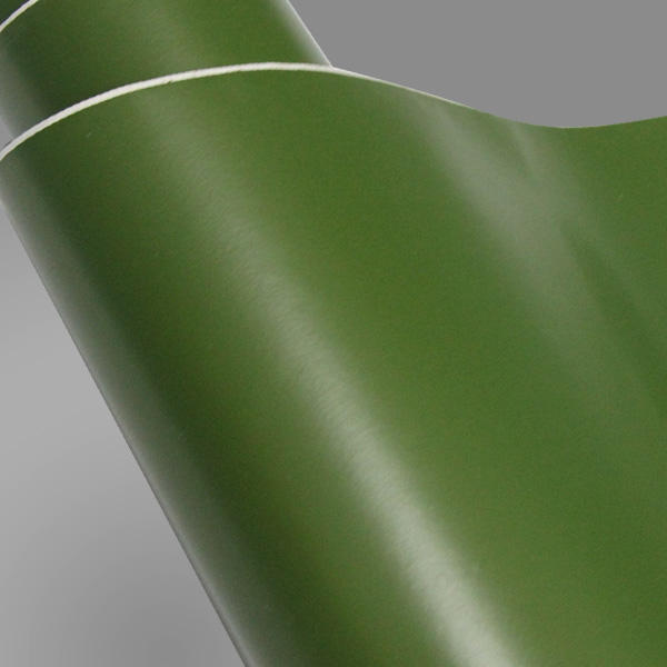 1.52x30m matte wrapping film army olive green car vinyl wrap